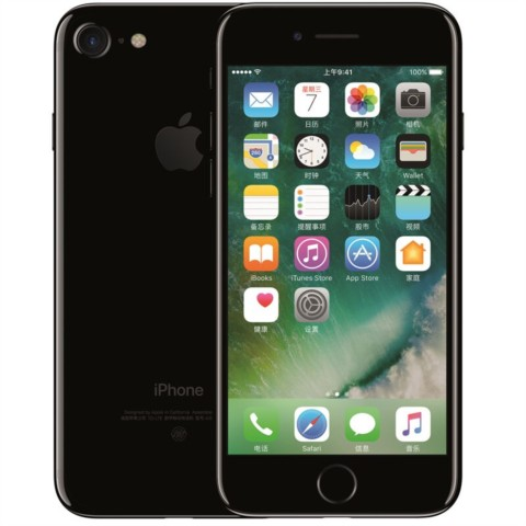 苹果iPhone 7 128GB 公开版 亮黑色外观图片4