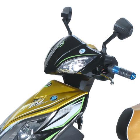 华速雷霆王电动车 60V超威电池 电动摩托车 电动摩托车迅鹰踏板车 电图片