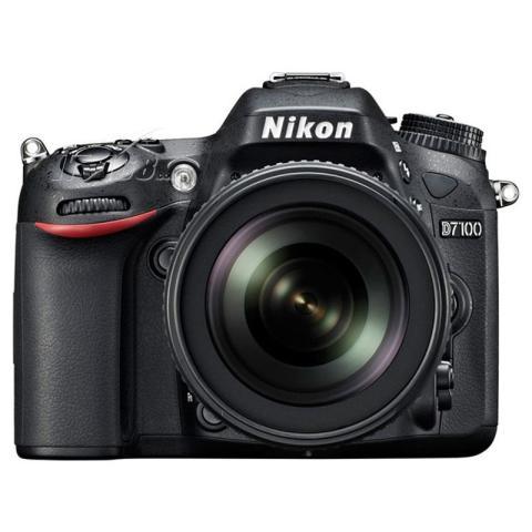 尼康D7100 单反机身(中高级单反 2410万像素 3.2英寸液晶屏 连拍6张/秒)整体外观图图片13