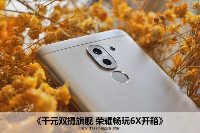 荣耀畅玩6X 4GB+64GB 全网通尊享版 铂光金开箱图片1