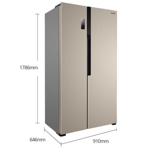 容声 BCD-529WD11HP 529升 对开门冰箱 矢量变频 风冷无霜 电脑控温冰箱产品图片2