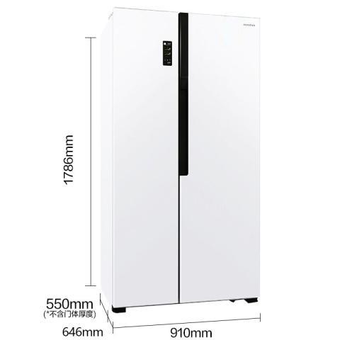 容声 BCD-526WD11HY 526升 家用对开门冰箱 风冷无霜 隐形门把手冰箱产品图片2