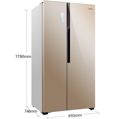 容声 BCD-636WD11HPA 636升 对开门冰箱 矢量变频 省电节能 云智能WIFI 电脑控温 风冷无霜大容积冰箱产品图片2