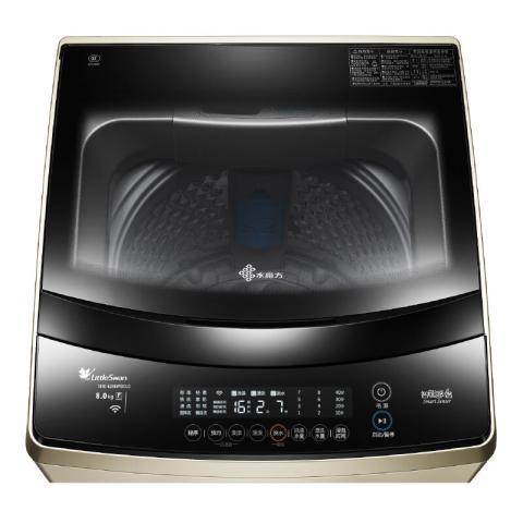小天鹅TB80-6288WIDCLG 8公斤水魔方变频波轮洗衣机(摩卡金色) 智能APP控制 免清洗系统洗衣机产品图片3