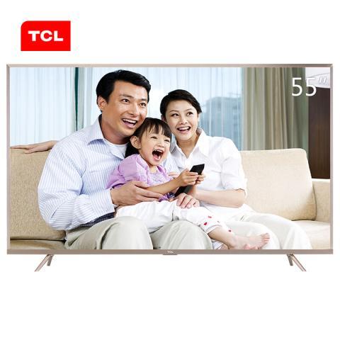 TCLL55P2-UD 55英寸 真4K全生态HDR 21核安卓智能LED电视平板电视产品图片4