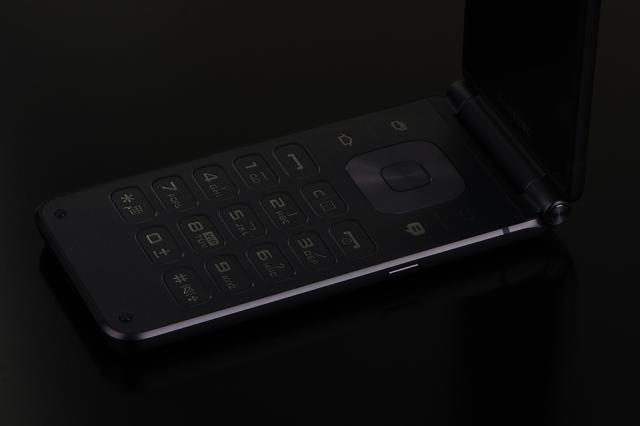 三星W2017 翻盖4G手机 金色细节图片7