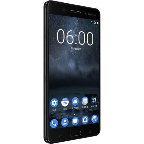 诺基亚6 4GB+64GB 全网通 黑色手机产品图片3