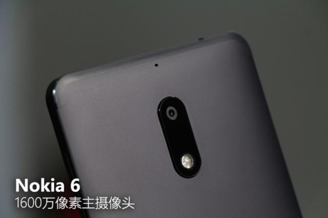 诺基亚6 4GB+64GB 全网通 黑色细节图片7
