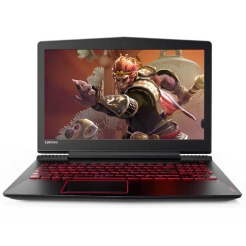 联想拯救者R720 15.6英寸游戏笔记本(i5-7300HQ 8G 1T+128G SSD GTX1050Ti 2G IPS 黑)笔记本产品图片1