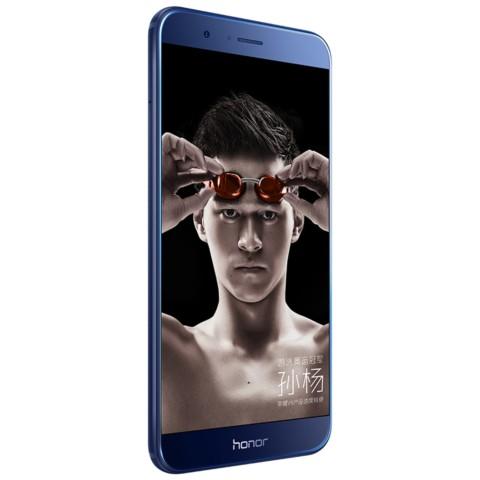 荣耀V9 全网通 高配版 6GB+64GB 移动联通电信4G手机 双卡双待 极光蓝手机产品图片2