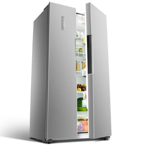 奥马BCD-488WK 488升 对开门冰箱 风冷无霜 电脑控温 隐形门把手(闪耀银)冰箱产品图片4