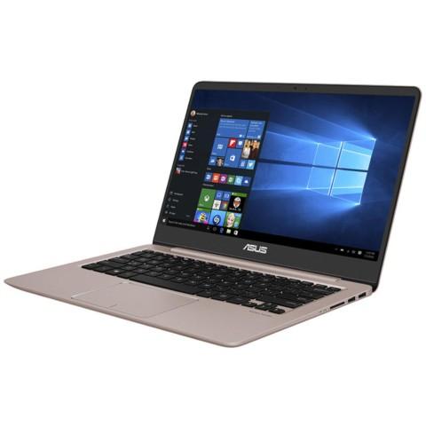 华硕 灵耀 U4000UQ 14.0英寸超轻薄笔记本电脑(i7-7500U NV940MX 8G 512GB SSD 玫瑰金 含office2016)笔记本产品图片3