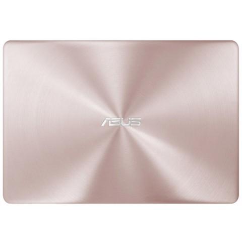 华硕 灵耀 U4000UQ 14.0英寸超轻薄笔记本电脑(i7-7500U NV940MX 8G 512GB SSD 玫瑰金 含office2016)笔记本产品图片5