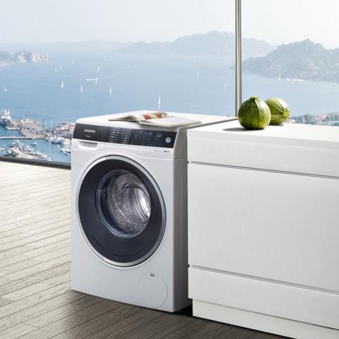 西门子 XQG100-WM14U561HW 10公斤 变频 滚筒洗衣机 智能除渍 家居互联 (白色)洗衣机产品图片2