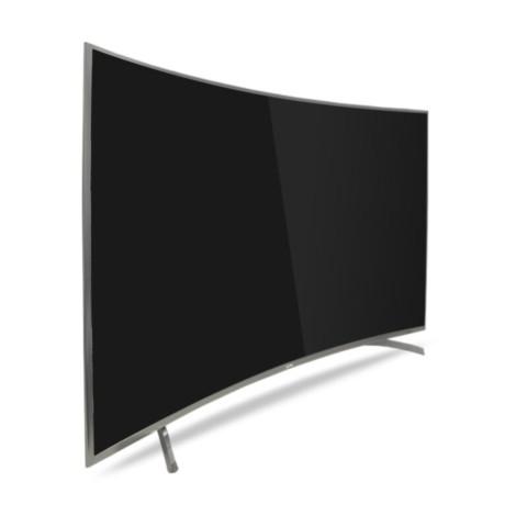 海尔 LQ65S81 65英寸 4K曲面安卓智能UHD高清LED液晶电视 金色 平板电视产品图片2