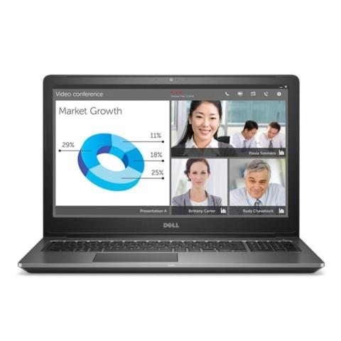 戴尔成就Vostro15-5568R-2625S 15.6英寸轻薄笔记本电脑(i5-7200U 4G 256GSSD GT940MX 2G独显 Win10)银笔记本产品图片1