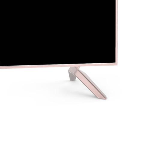 长虹55D3P 55英寸64位4K超高清HDR全金属智能平板液晶未来电视(蔷薇金)平板电视产品图片5