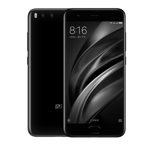 小米6 全网通 6GB+128GB 亮黑色 移动联通电信4G手机 双卡双待手机产品图片1