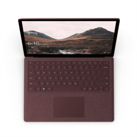 微软Surface Laptop(酷睿 i5/8GB/256GB)深酒红笔记本产品图片2