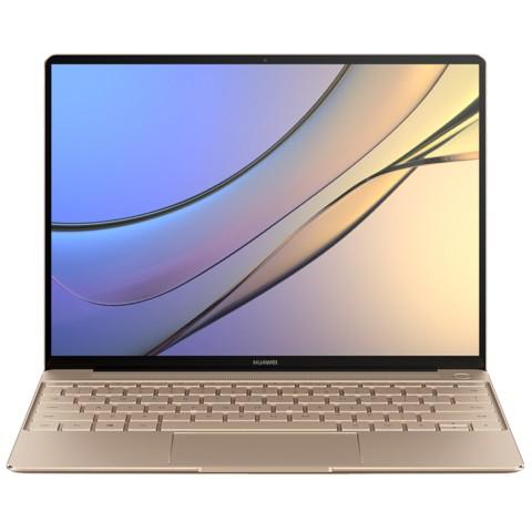华为MateBook X 13英寸超轻薄笔记本电脑(i5-7200U 4G 256G Win10 内含拓展坞)金笔记本产品图片1