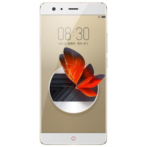 努比亚Z17 6GB+64GB 金色手机产品图片2