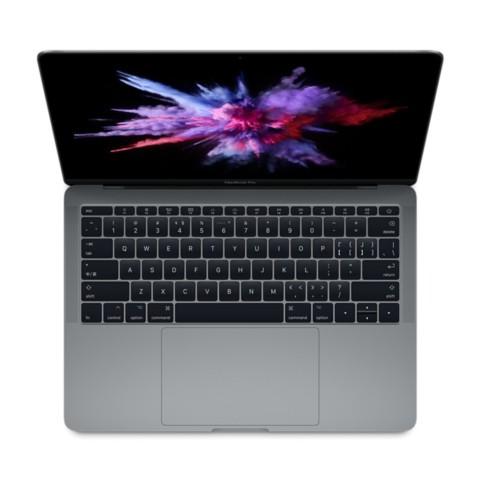 苹果MacBook Pro 2017 13.3英寸笔记本电脑 深空灰色(Core i5处理器/8GB内存/128GB硬盘)MPXQ2CH/A笔记本产品图片1