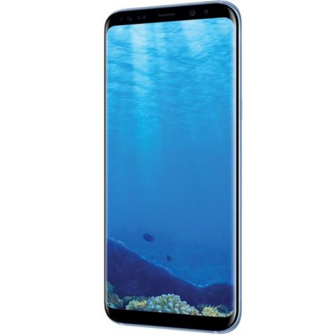 三星Galaxy S8+(SM-G9550)4GB+64GB版 雾屿蓝 移动联通电信4G手机 双卡双待手机产品图片3