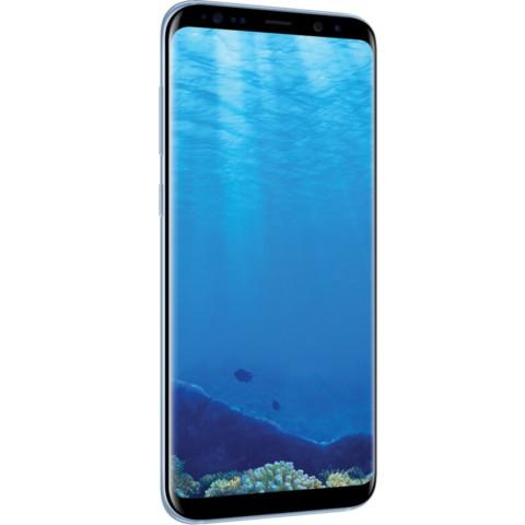 三星Galaxy S8+(SM-G9550)4GB+64GB版 雾屿蓝 移动联通电信4G手机 双卡双待手机产品图片4
