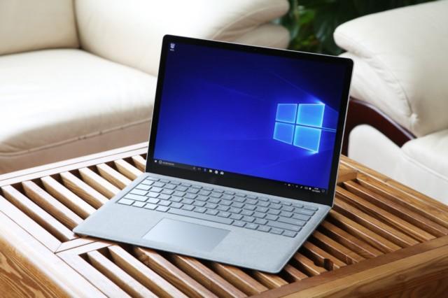 微软Surface Laptop(酷睿 i5/8GB/256GB)深酒红实拍图片1