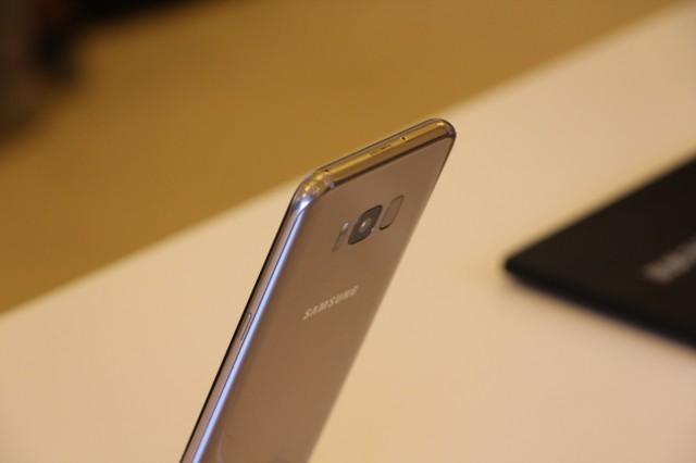 三星Galaxy S8+(SM-G9550)4GB+64GB版 雾屿蓝 移动联通电信4G手机 双卡双待现场图片8