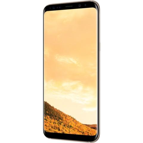 三星Galaxy S8+(SM-G9550)4GB+64GB版 绮梦金 移动联通电信4G手机 双卡双待手机产品图片2