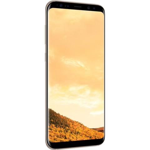 三星Galaxy S8+(SM-G9550)4GB+64GB版 绮梦金 移动联通电信4G手机 双卡双待手机产品图片3