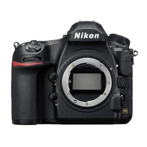 尼康D850 全画幅单反相机整体外观图图片1