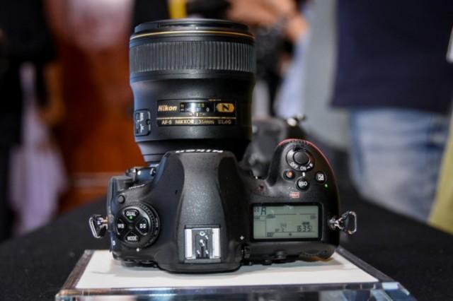 尼康D850 全画幅单反相机局部细节图图片2