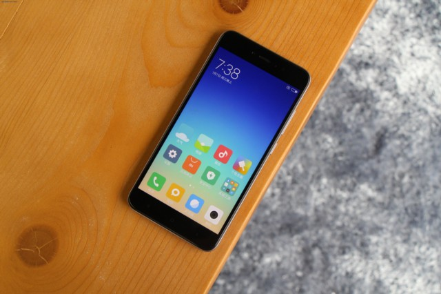 小米红米Note 5A 高配版 3G+32G 双卡双待4G全网通 香槟金现场图片1