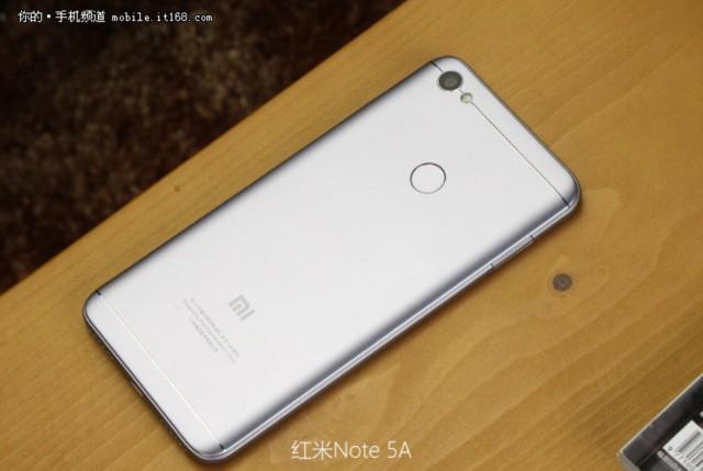 小米红米Note 5A 高配版 3G+32G 双卡双待4G全网通 香槟金现场图片2