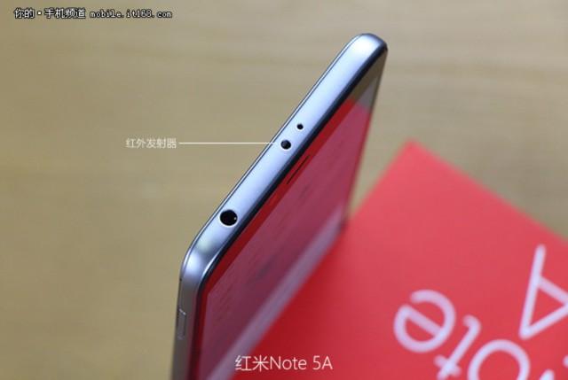 小米红米Note 5A 高配版 3G+32G 双卡双待4G全网通 香槟金现场图片4