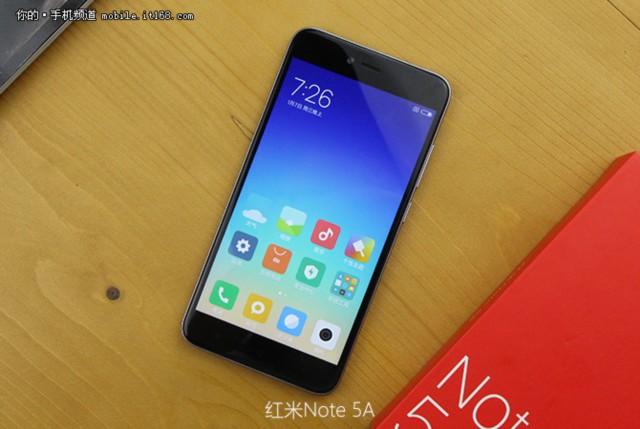 小米红米Note 5A 高配版 3G+32G 双卡双待4G全网通 香槟金现场图片5