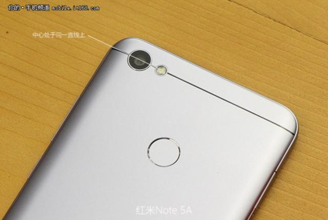 小米红米Note 5A 高配版 3G+32G 双卡双待4G全网通 香槟金现场图片6