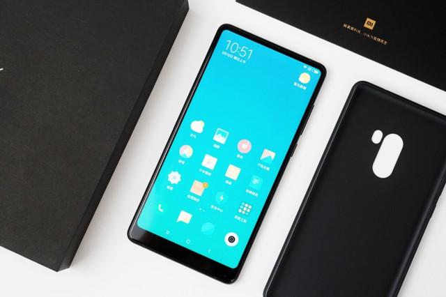 小米MIX2 黑色陶瓷版 6G+128G 全网通4G手机开箱图片5