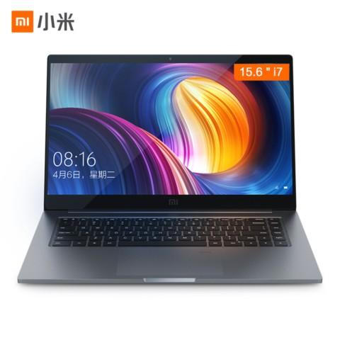 小米Pro 15.6英寸金属轻薄笔记本(i7-8550U 8G 256GSSD MX150 2G独显 FHD 指纹识别 预装office)深空灰笔记本产品图片1
