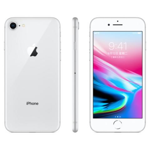苹果iPhone 8 (A1863) 256GB 银色 移动联通电信4G手机外观图片2