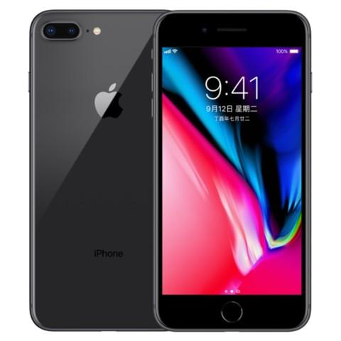 苹果iPhone 8 Plus (A1864) 64GB 深空灰色 移动联通电信4G手机外观图片1