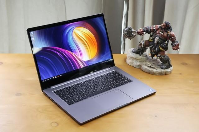 小米Pro 15.6英寸金属轻薄笔记本(i7-8550U 8G 256GSSD MX150 2G独显 FHD 指纹识别 预装office)深空灰实拍图片2