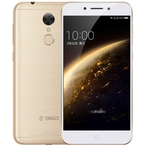 360手机手机 N5 全网通 6GB+32GB 流光金色 移动联通电信4G手机 双卡双待手机产品图片1
