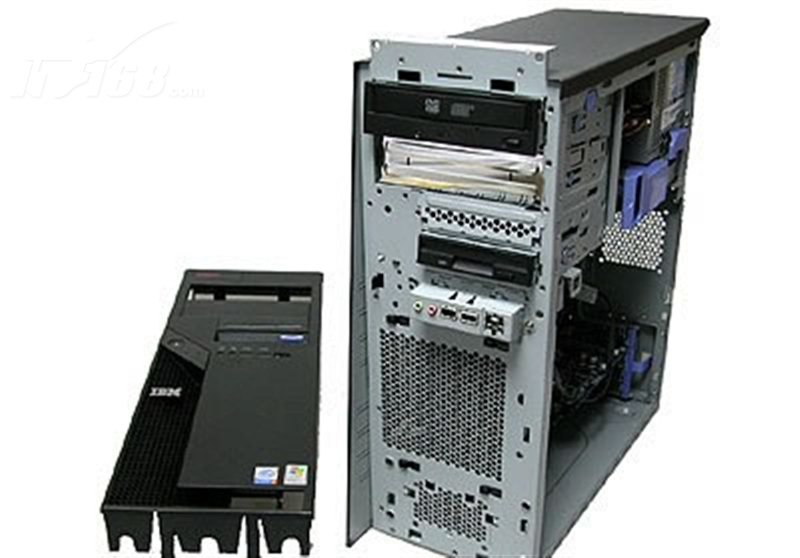 ThinkCentre M55p 8798A24 台式机电脑产品图片8下载 ThinkCentre台式机电脑图片大全